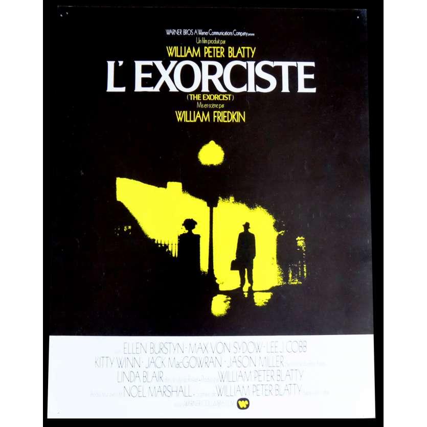 L'EXORCISTE Flyer 21x30 - 1973 - Linda Blair, William Friedkin