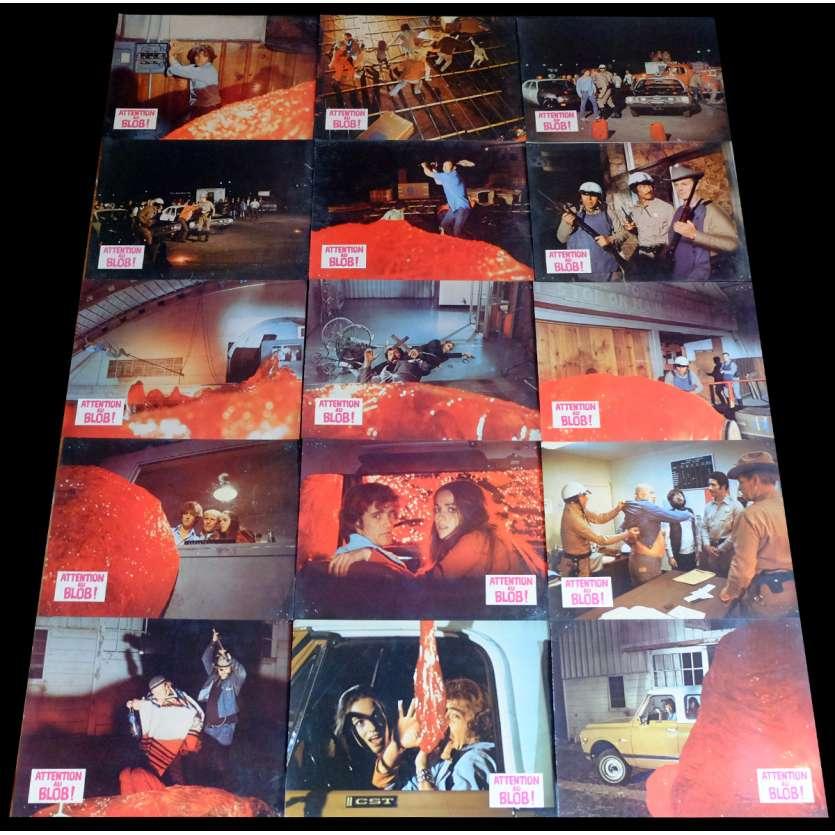 ATTENTION AU BLOB Photos de film x15 21x30 - 1972 - Robert Walker Jr, Larry Hagman