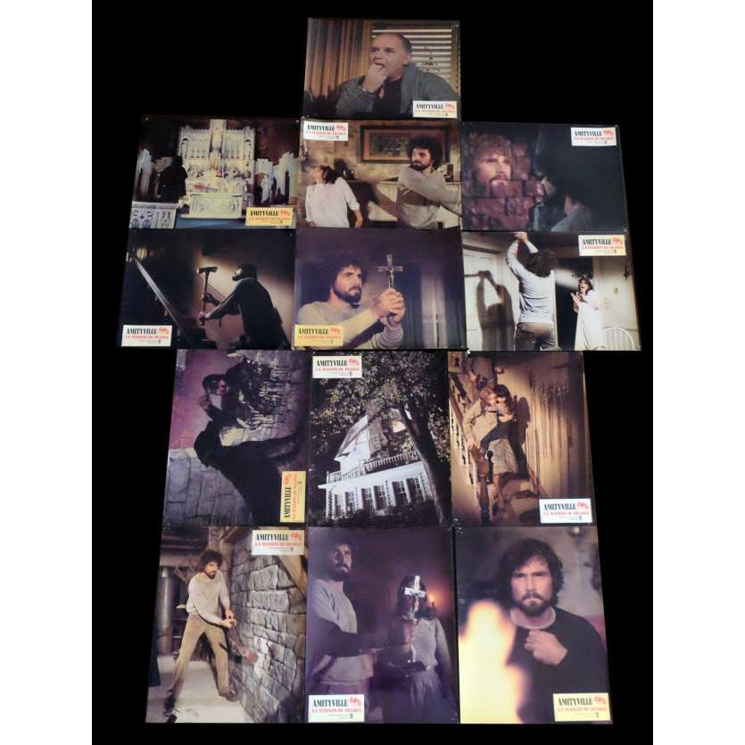 THE AMITYVILLE HORROR French Lobby Cards x13 9x12 - 1979 - Stuart Rosenberg, James Brolin