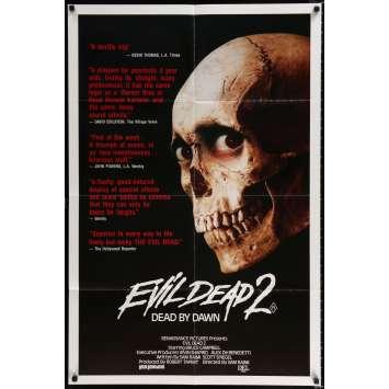 EVIL DEAD 2 Affiche de film 69x102 - 1987 - Bruce Campbell, Sam Raimi