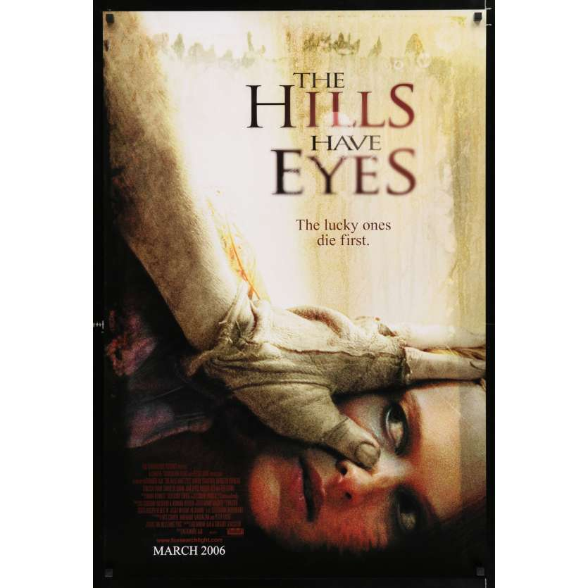 THE HILLS HAVE EYES US Movie Poster 29x41 - 2006 - Alexandre Aja, Ted Levine