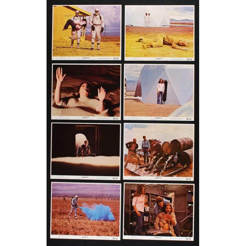 PHASE IV Photos de film 20x25 - 1974 - Nigel Davenport, Saul Bass