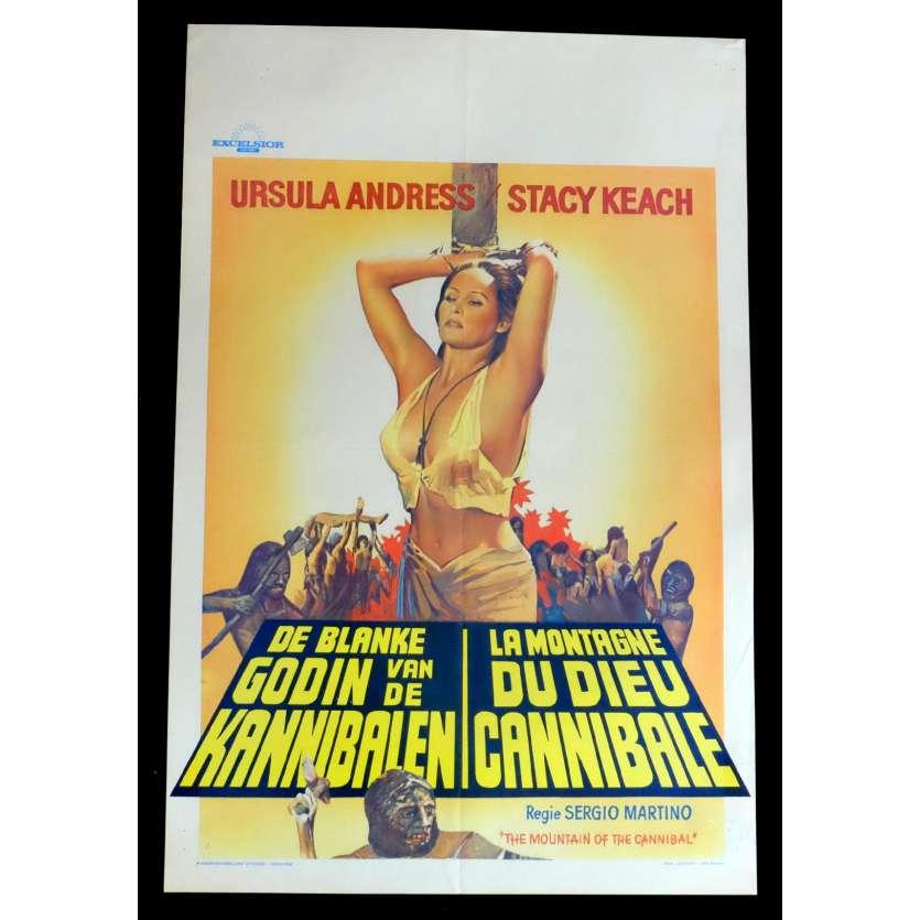 LA MONTAGNE DU DIEU CANNIBALE Affiche de film 35x55 - 1978 - Ursula Andress, Sergio Martino