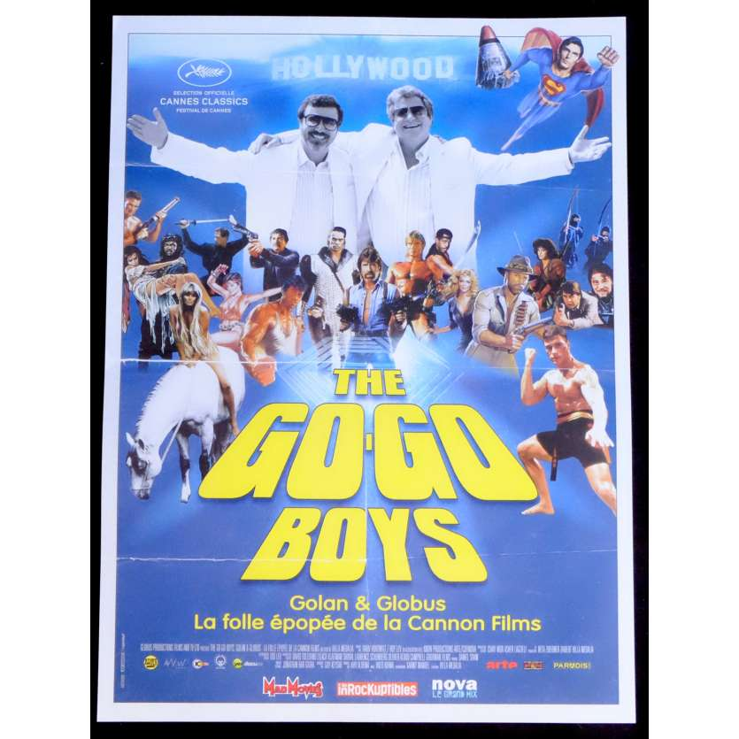 THE GO-GO BOYS French Movie Poster 15x21 - 2014 - Hilla Medalia, Sylvester Stallone