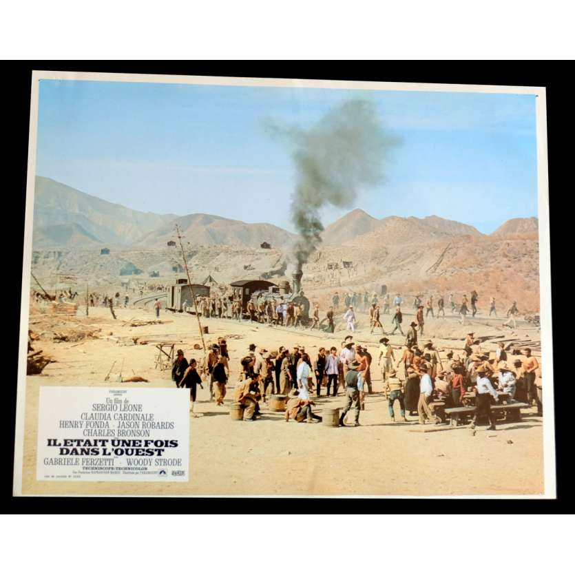ONCE UPON A TIME IN THE WEST French Lobby Card N3 9x12 - 1968 - Sergio Leone, Charles Bronson