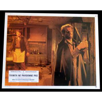 GOD FORGIVES I DON'T French Lobby Card N9 9x12 - 1972 - Giuseppe Colizzi, Terence Hill, Bud Spencer
