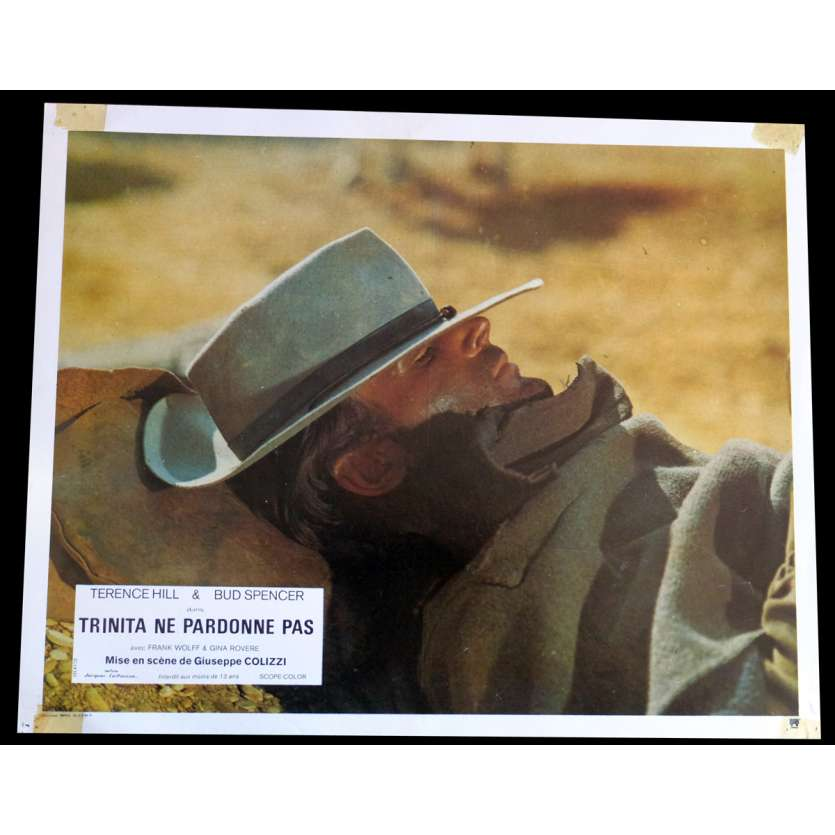 GOD FORGIVES I DON'T French Lobby Card N4 9x12 - 1972 - Giuseppe Colizzi, Terence Hill, Bud Spencer