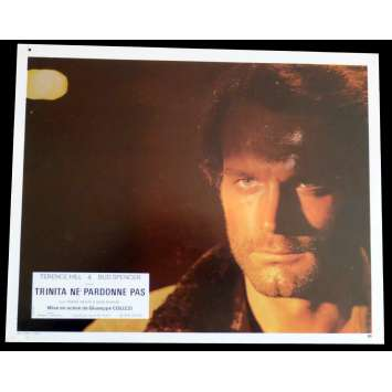 GOD FORGIVES I DON'T French Lobby Card N3 9x12 - 1972 - Giuseppe Colizzi, Terence Hill, Bud Spencer