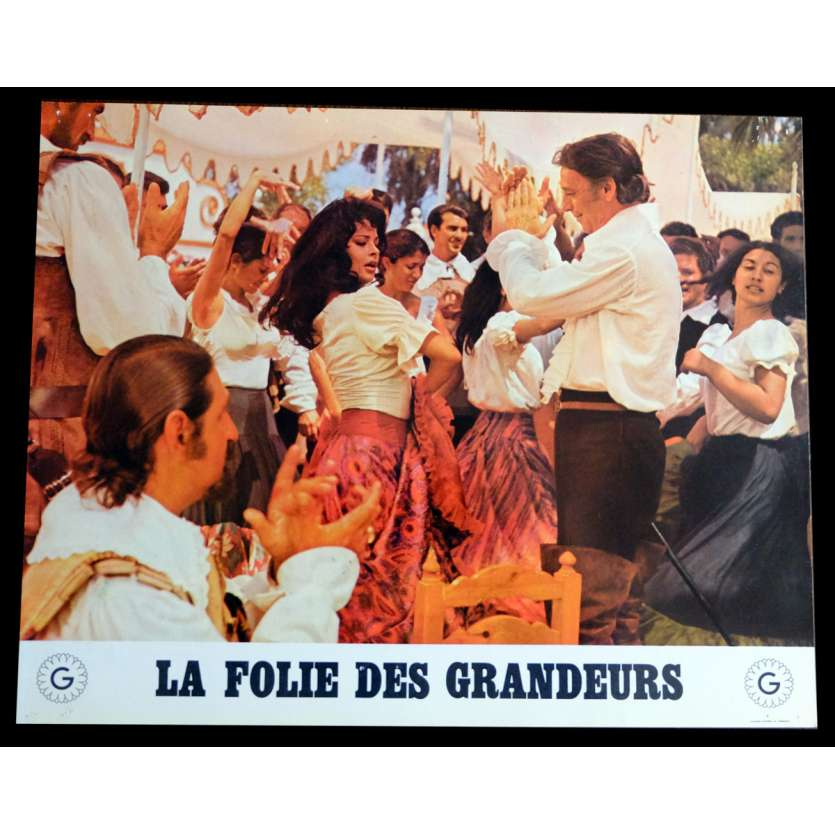 DELUSIONS OF GRANDEUR French Lobby Card N8 9x12 - 1971 - Gérard Oury, Louis de Funes