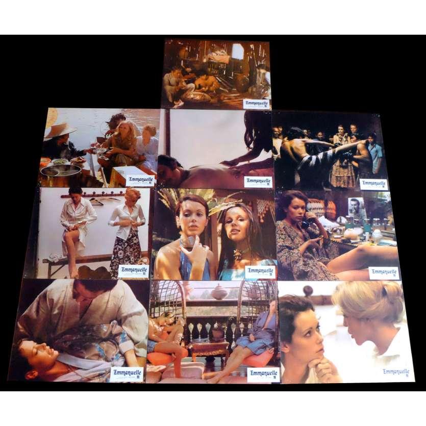 EMMANUELLE Photos de film x10 21x30 - 1974 - Sylvia Krystel, Just Jaekin