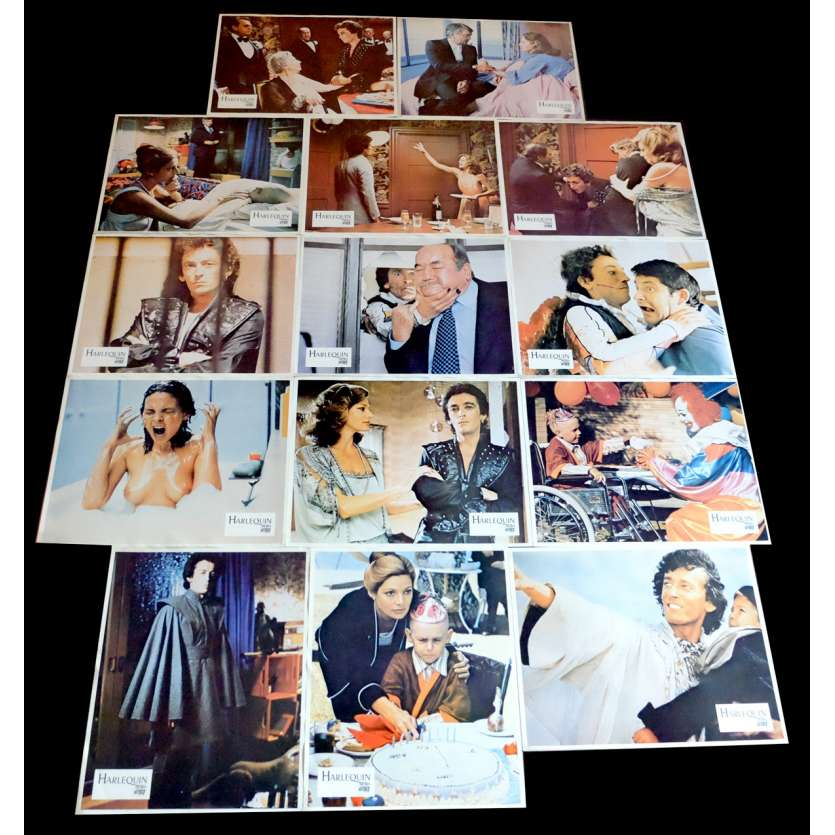 HARLEQUIN French Lobby Cards 9x12 - 1980 - Simon Wincer, Robert Powell