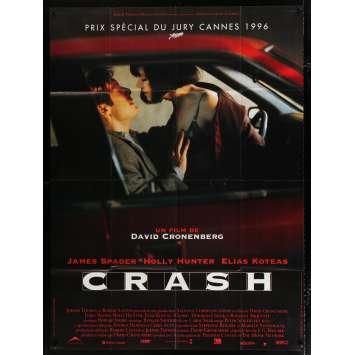 CRASH Affiche de film 120x160 - 1996 - Holly Hunter, David Cronenberg