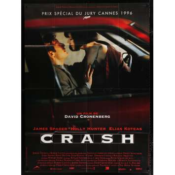 CRASH French Movie Poster 47x63 - 1996 - David Cronenberg, Holly Hunter