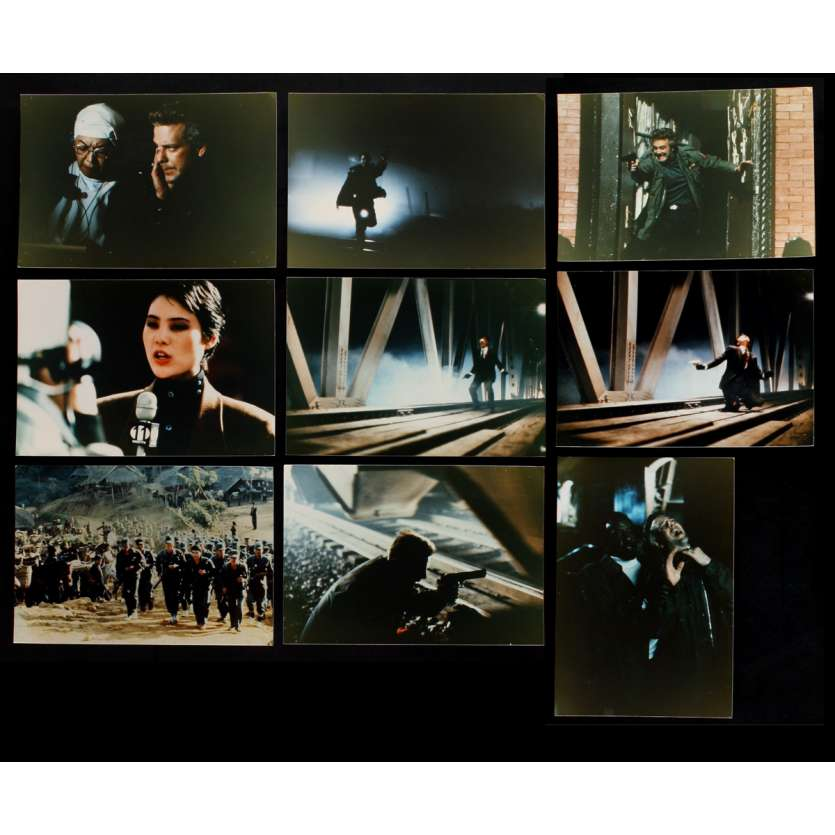 YEAR OF THE DRAGON US Lobby Cards x9 8x10 - 1985 - Michael Cimino, Mickey Rourke