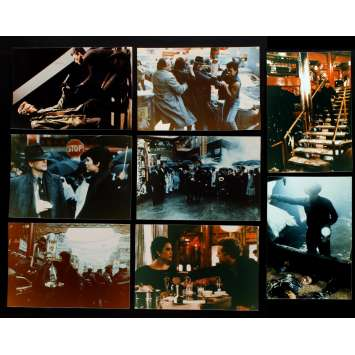 YEAR OF THE DRAGON US Lobby Cards x8 8x10 - 1985 - Michael Cimino, Mickey Rourke