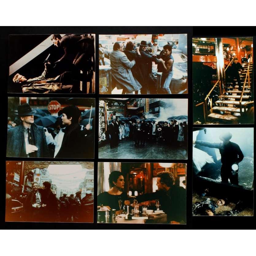 L'ANNEE DU DRAGON Photos de film x8 20x25 - 1985 - Mickey Rourke, Michael Cimino