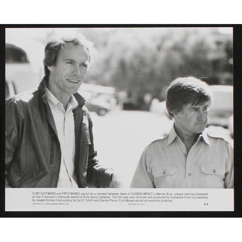 SUDDEN IMPACT US Movie Still N4 8x10 - 1983 - Clint Eastwood, Sondra Locke