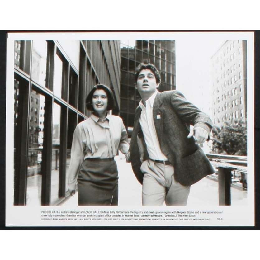 GREMLINS 2 US Movie Still N1 8x10 - 1990 - Joe Dante, Zach Galligan