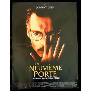 THE NINTH GATE French Movie Poster 15x21 - 1999 - Roman Polanski, Johnny Depp