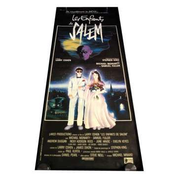 Mauvais-genres.com STEPHEN KING Les enfants de Salem Affiche du film française 1987 Storyboards et dessins