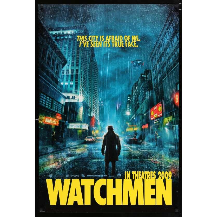 WATCHMEN US Movie Poster 29x41 - 2009 - Zack Snyder, Patrick Wilson