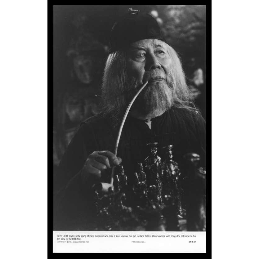 GREMLINS Photo de presse N7 20x25 - 1984 - Zach Galligan, Joe Dante