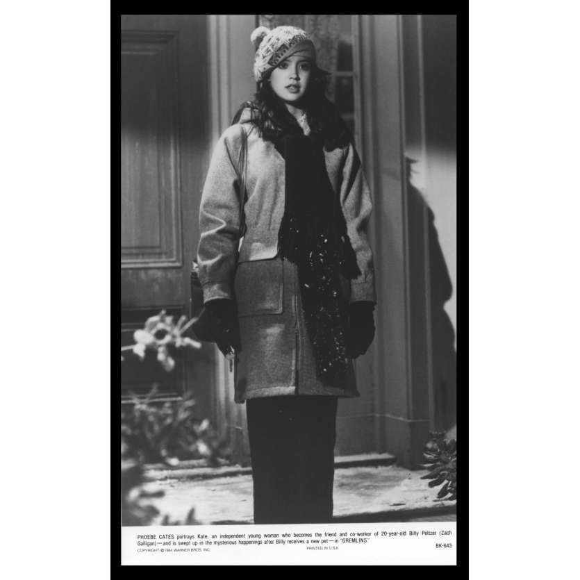 GREMLINS Photo de presse N6 20x25 - 1984 - Phoebe Cates