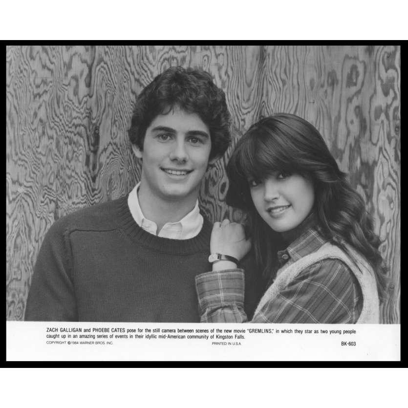 GREMLINS Photo de presse N4 20x25 - 1984 - Zach Galligan, Phoebe Cates