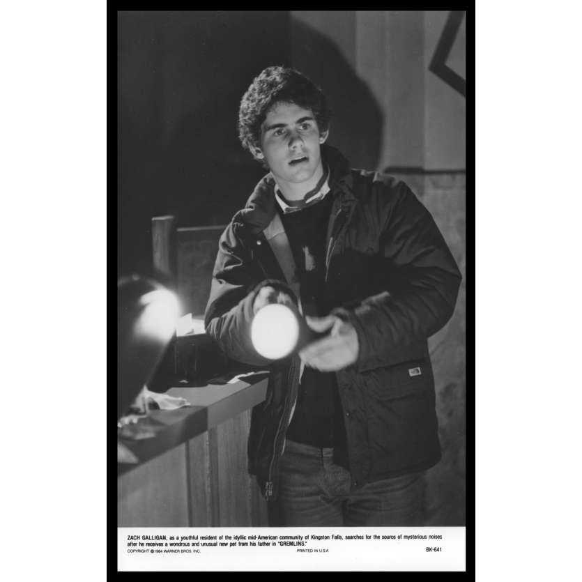 GREMLINS Photo de presse N3 20x25 - 1984 - Zach Galligan