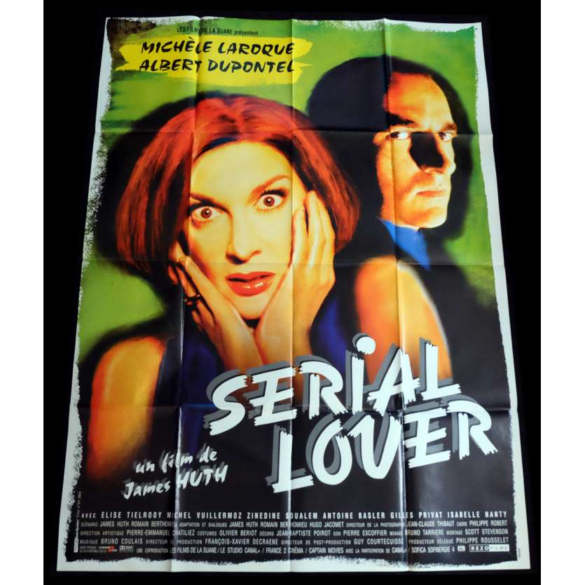 SERIAL LOVER Affiche de film 120x160 - 1998 - Albert Dupontel, James Huth