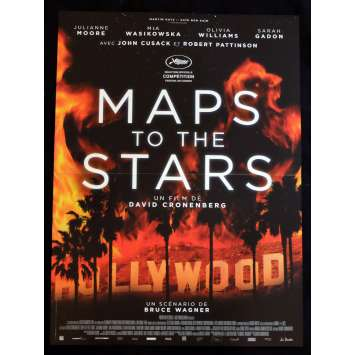 MAP TO THE STARS French Movie Poster 15x21 - 2014 - David Cronenberg, Julianne Moore