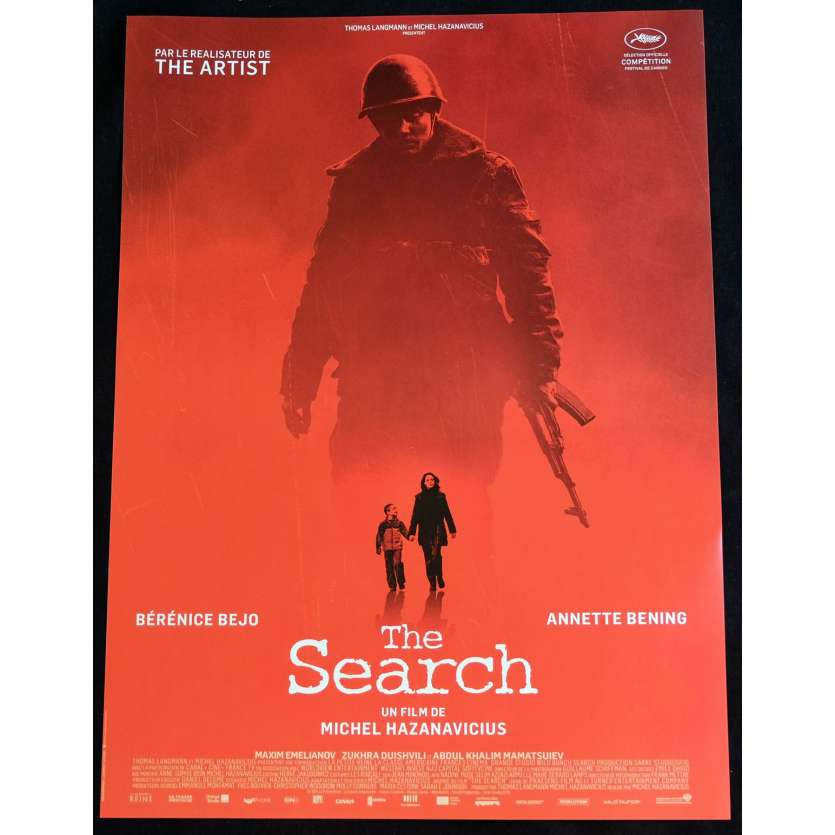 THE SEARCH French Movie Poster 15x21 - 2014 - Michel Hazanavicius, Bérénice Bejo