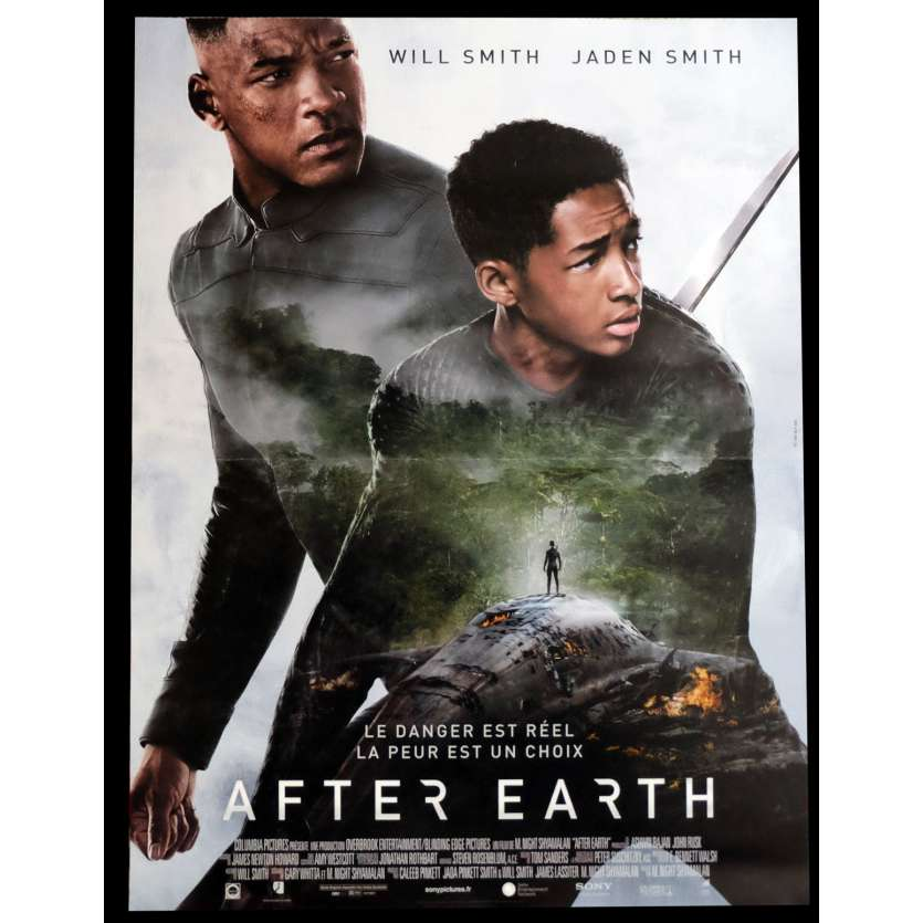AFTER EARTH French Movie Poster 15x21 - 2012 - M. Night Shyamalan, Will Smith