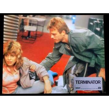 TERMINATOR French Lobby Card N5 9x12 - 1983 - James Cameron, Arnold Schwarzenegger