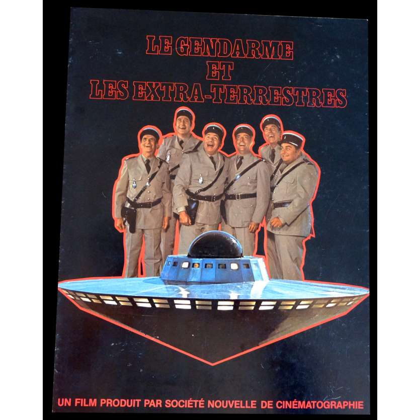 THE TROOPS AND ALIENS French Flyer 9x12 - 1979 - Jean Girault, Louis de Funès