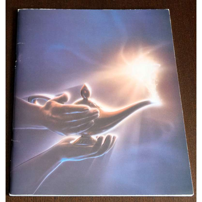 ALADDIN French Program 35p 10x12 - 1992 - Walt Disney, Robin Williams