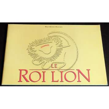 LION KING French Program 40p 9x12 - 1994 - Walt Disney, Mathew Broderick