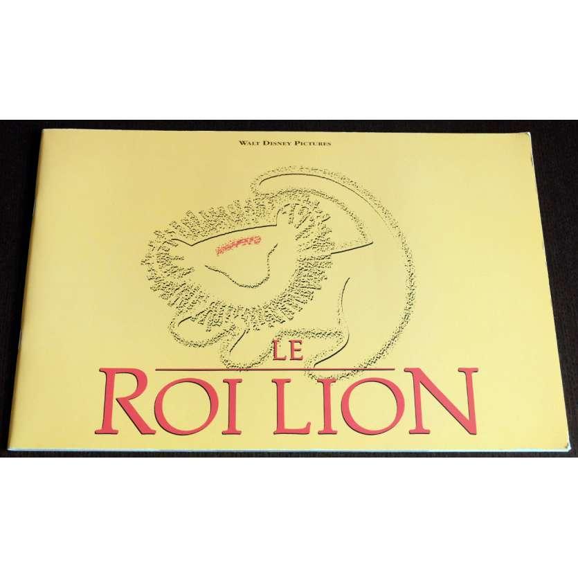 LE ROI LION Programme 40p 21x30 - 1994 - Mathew Broderick, Walt Disney