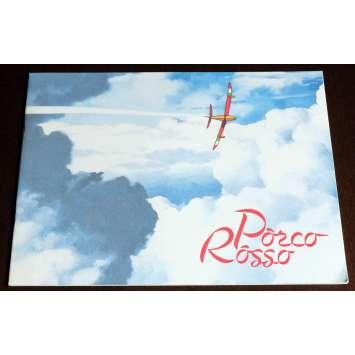 PORCO ROSSO French Program 16p 9x12 - 1992 - Hayao Miyazaki, Shūichirō Moriyama