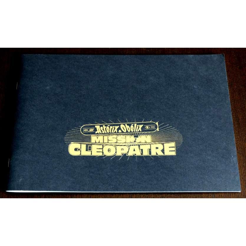 ASTERIX - MISSION CLEOPATRE French Program 38p 9x12 - 2002 - Alain Chabat, Jamel Debbouze
