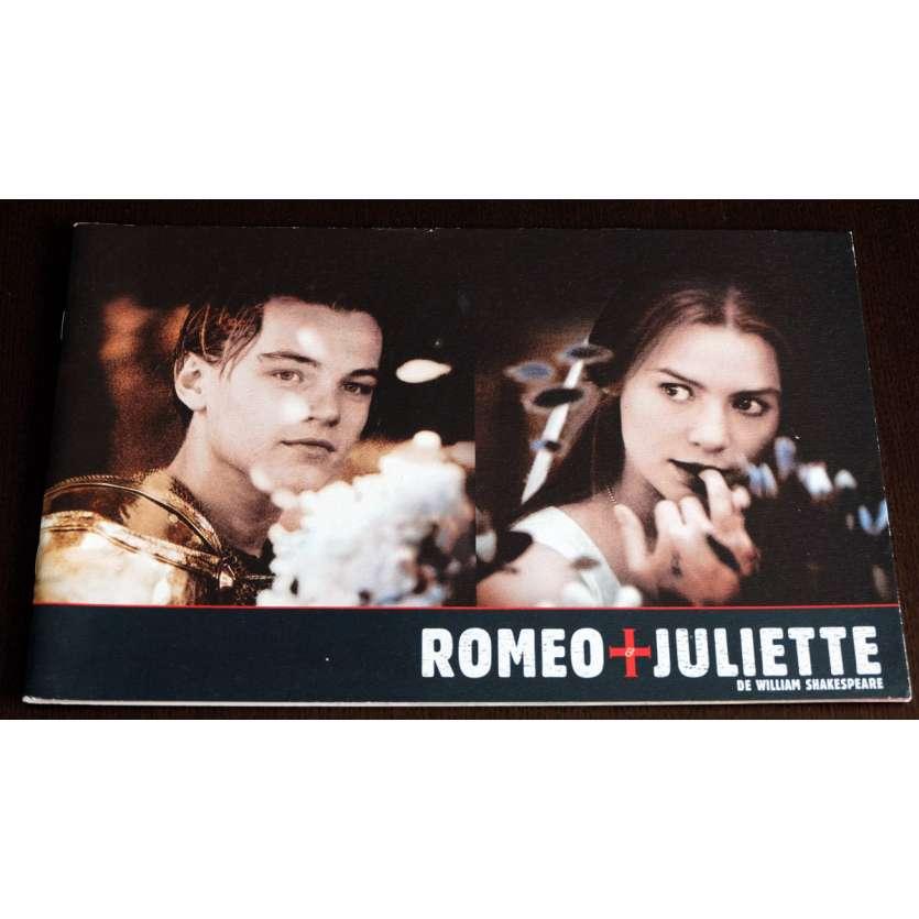 ROMEO AND JULIETTE French Program 35p 9x12 - 1996 - Baz Luhrman, Leonardo DiCaprio