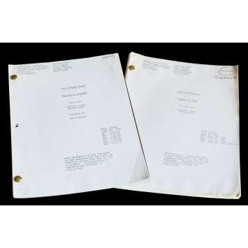 HILL STREET BLUES US Lot of 2 TV Script 9x12 - 1985 - Steven Bochko, Daniel J. Travanti