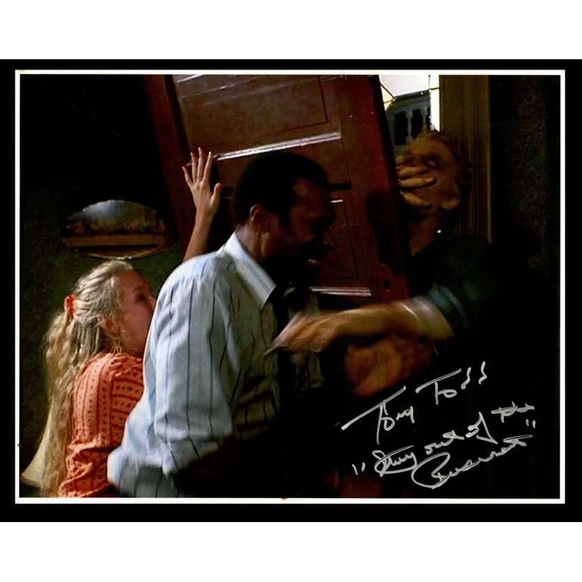 LA NUIT DES MORTS VIVANTS Photo signée 28x36 - 1990 - Tony Todd, Tom Savini