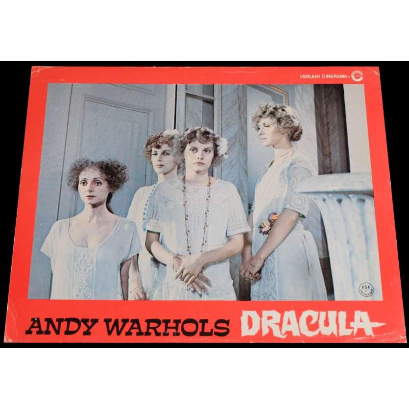 ANDY WARHOL'S DRACULA French Lobby Card 9x12 - 1974 - Andy Warhol, Udo Kier -
