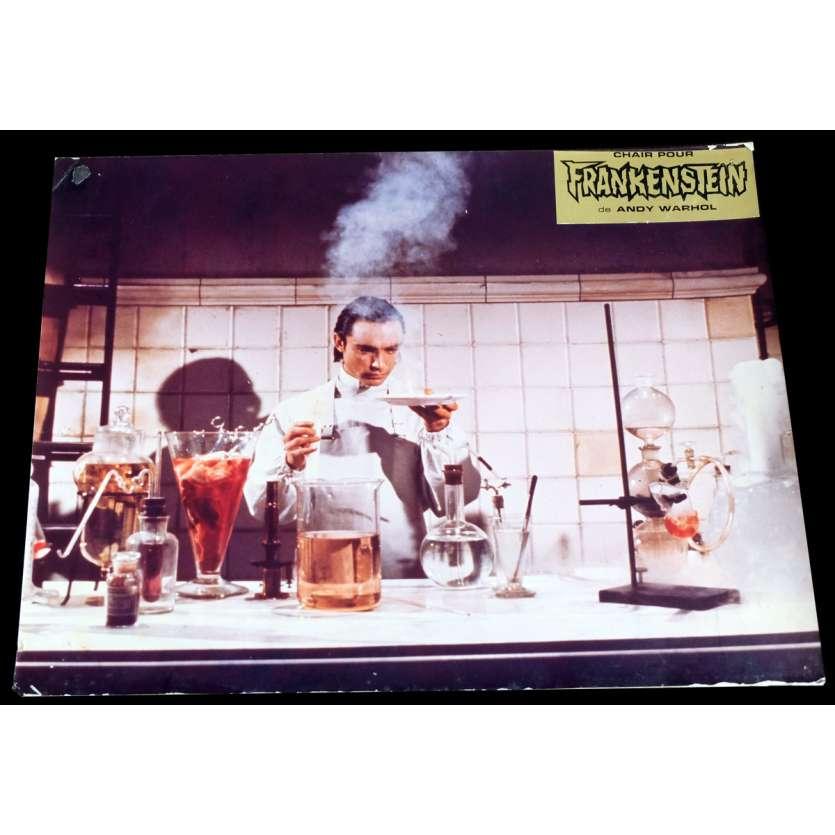 ANDY WARHOL'S FRANKENSTEIN French Lobby Card 9x12 - 1973 - Andy Warhol, Udo Kier -