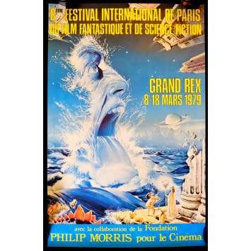 FESTIVAL DU FILM FANTASTIQUE DE PARIS French Poster - 1980 - , -