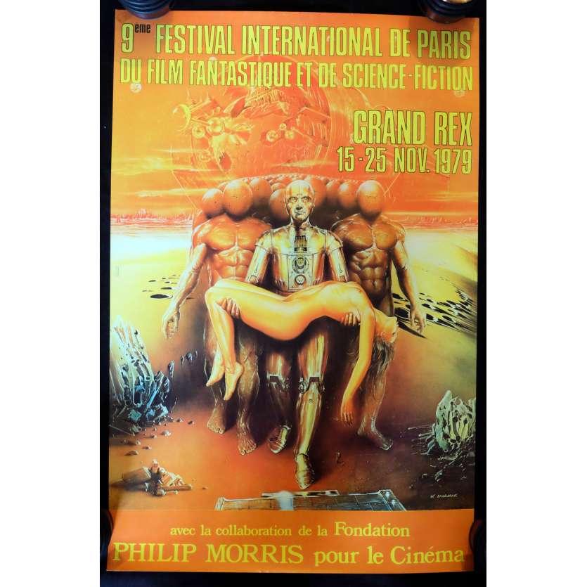 FESTIVAL DU FILM FANTASTIQUE DE PARIS French Poster - 1979 - , -