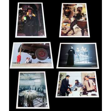 SUPERMAN French Deluxe Lobby Cards x5 11x14 - 1978 - Richard Donner, Christopher Reeves -