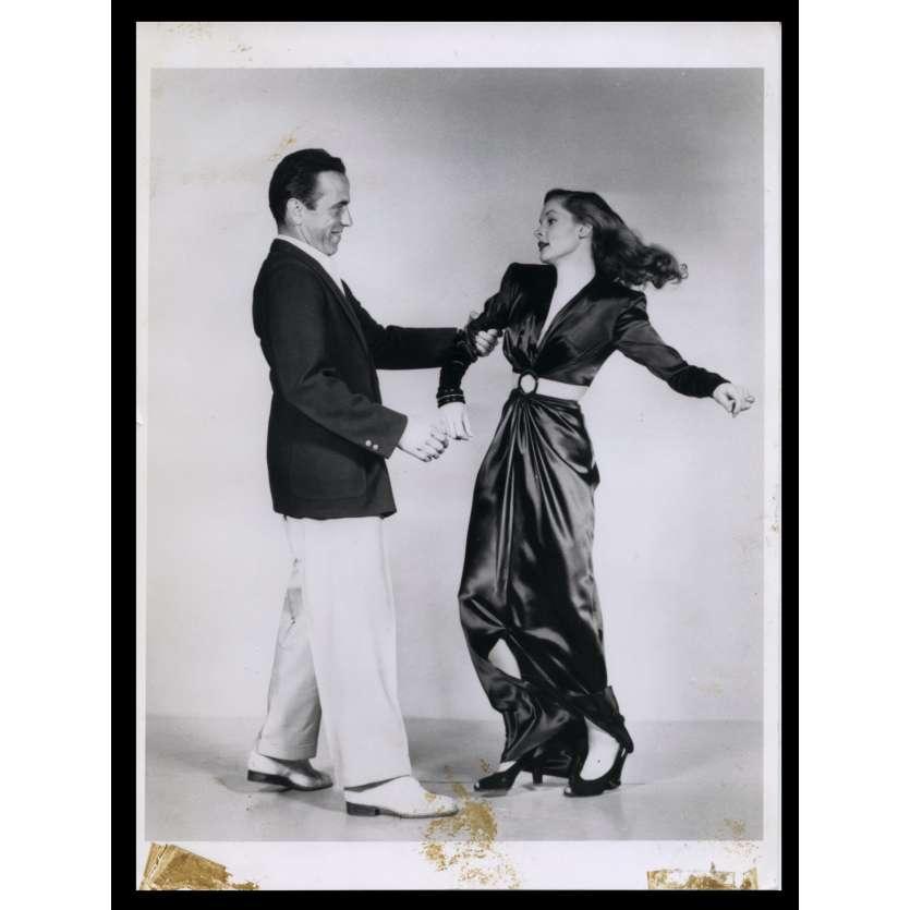 LE PORT DE L'ANGOISSE Photo de presse 20x24 - R1970 - Humphrey Bogart, Lauren Bacall, Howard Hawks