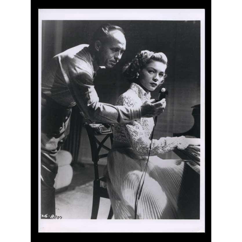 YOUNG MAN WITH A HORN French Press Still N3 7x9 - R1970 - Michael Curtiz, Kirk Douglas, Lauren Bacall